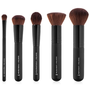Synthetic Vegan Small Contour Brush