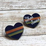 13th Doctor Shirt - Heart | Enamel Pin