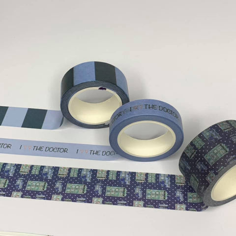 Doctor Who | Washi Tape - 3 pack