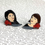 My Favorite Murder Podcast Hosts | Enamel Pin Set