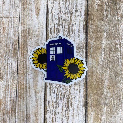 For Amy TARDIS | Sticker