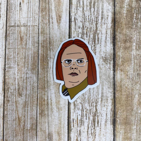 Dwight as Meredith | Sticker