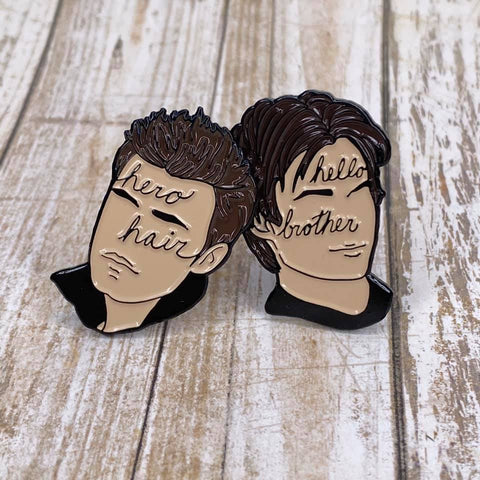 The Salvatore Brothers | Enamel Pin Set