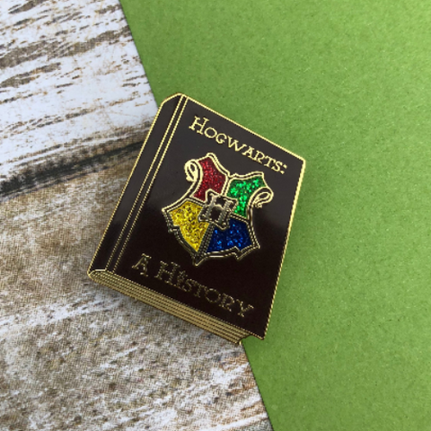 History Book | Enamel Pin