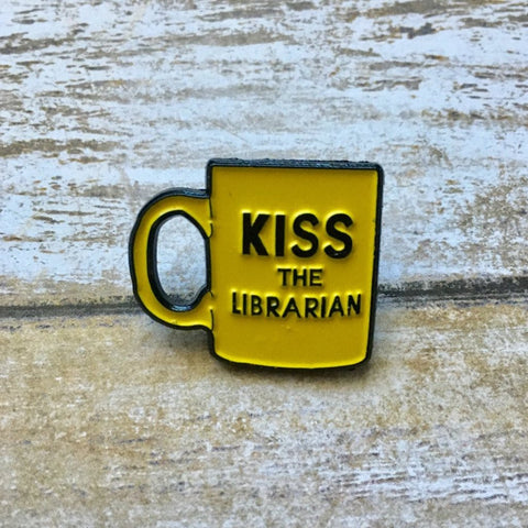 Kiss the Librarian | Enamel Pin