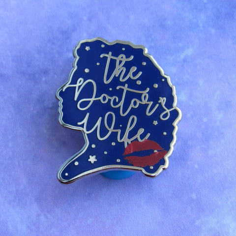 The Doctor's Wife | Enamel Pin