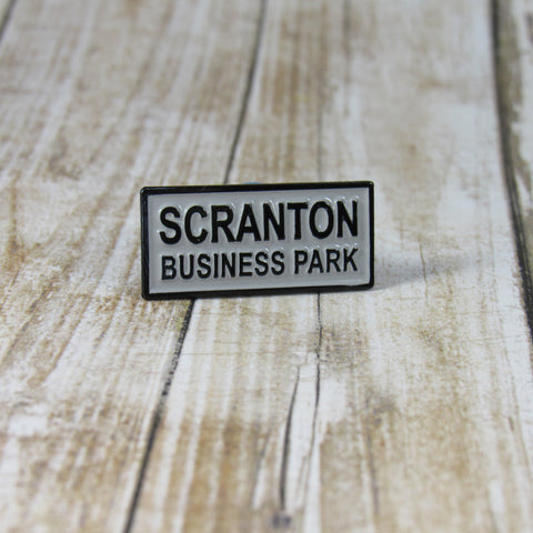 Scraton Business Park | Enamel Pin