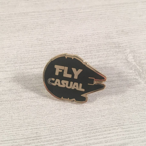 Fly Casual | Enamel Pin