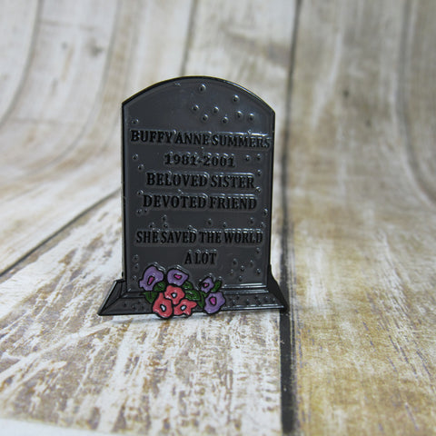Buffy Summers' Headstone | Enamel Pin