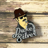Duke Silver | Enamel Pin