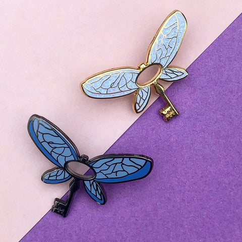 Flying Key | Enamel Pin