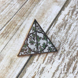 Floral Triangle LE | Enamel Pin