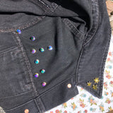 Rainbow pin back