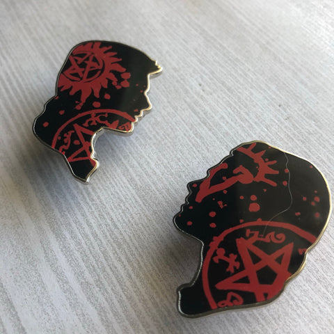 The Winchester Brothers | Enamel Pin Set