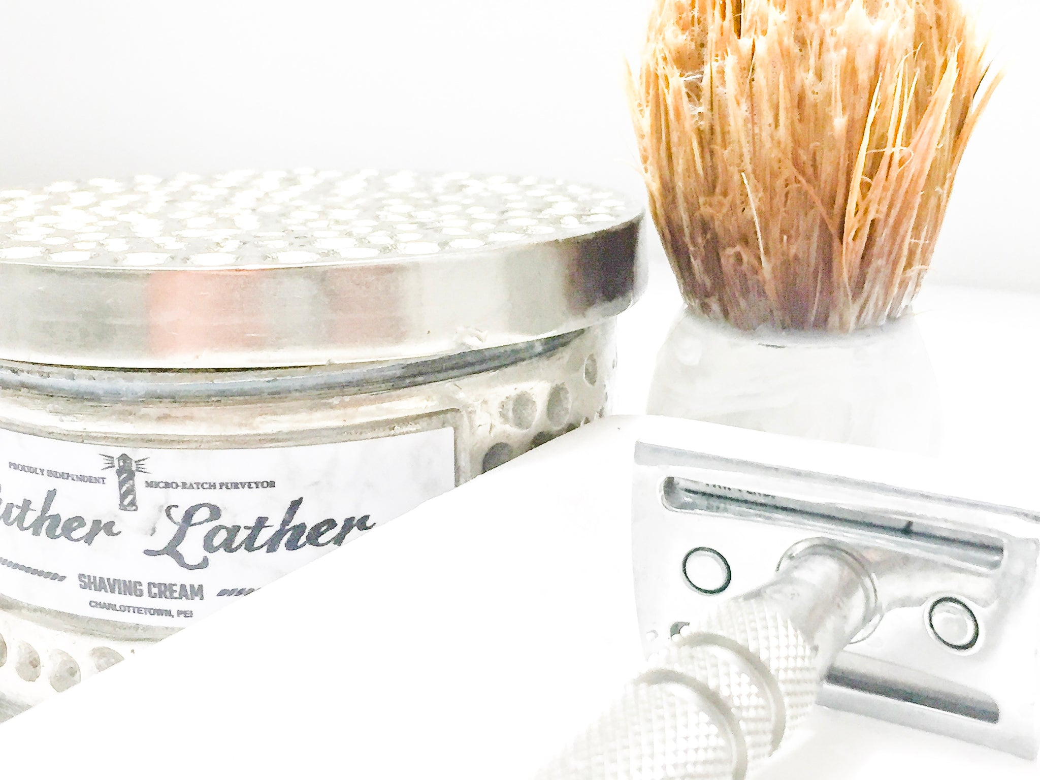 Poetry of Toiletry | Luther Lather Shaving Creamery