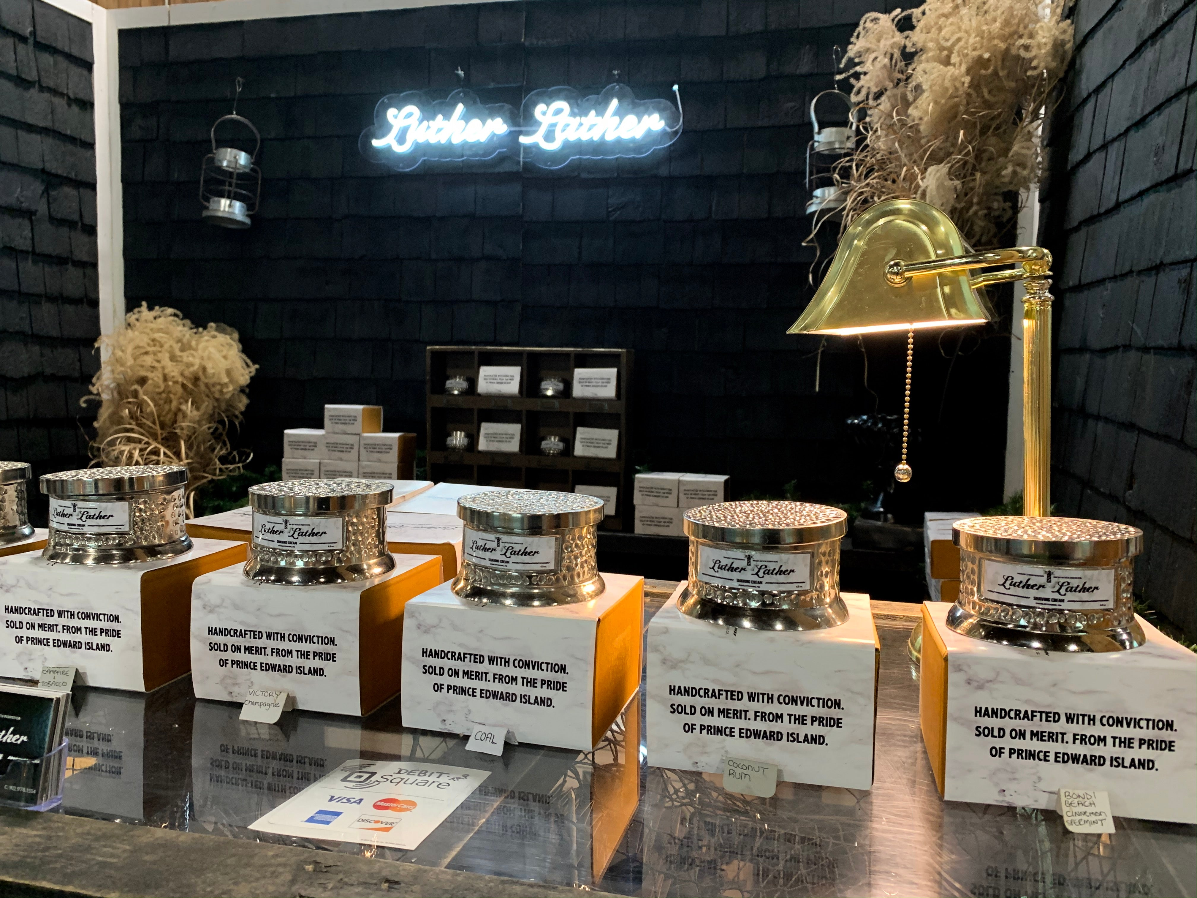 lutherlather popup shop
