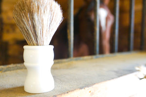 Shave Brush Horse Hair
