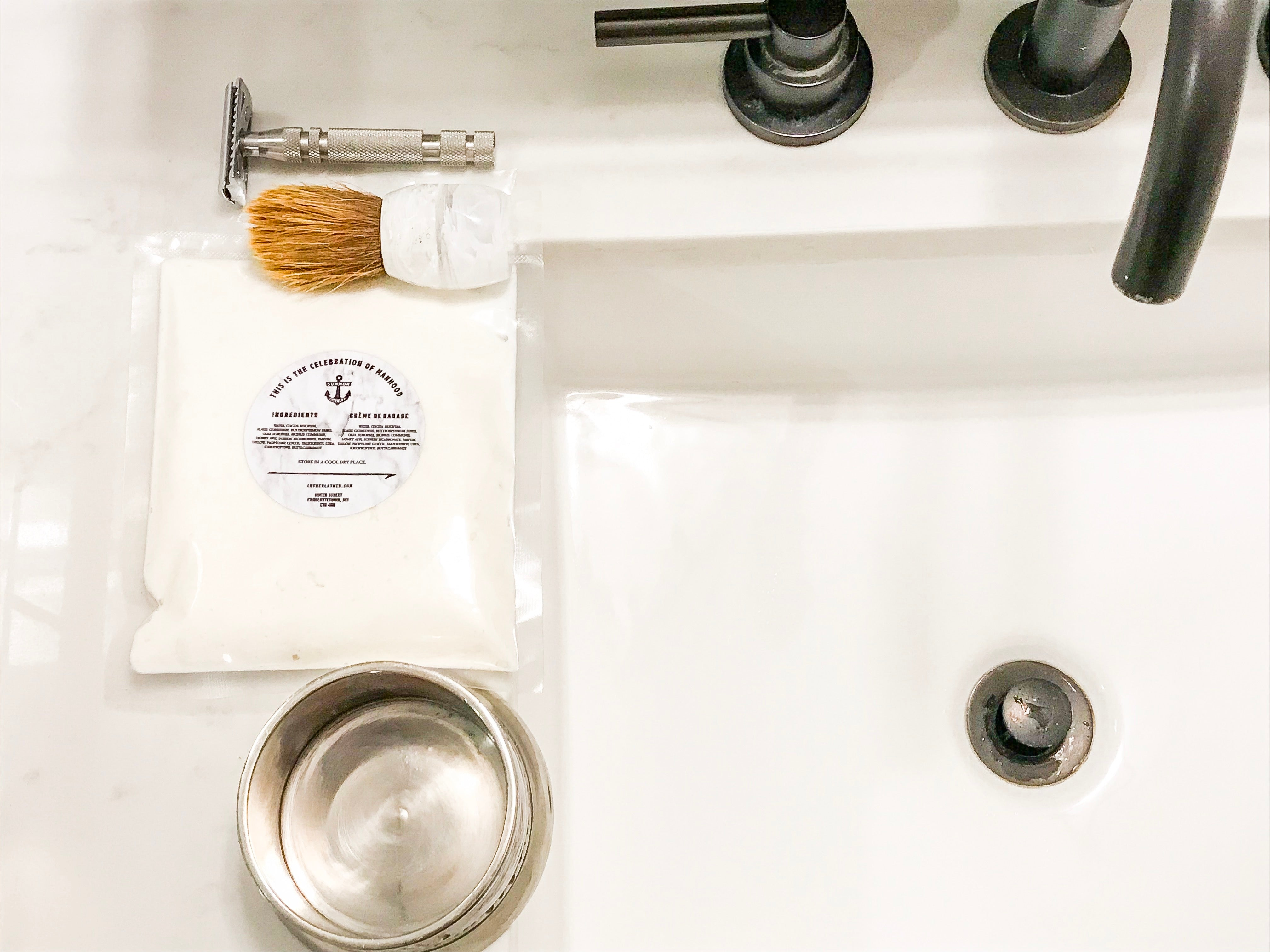 luther lather shaving creamery refills