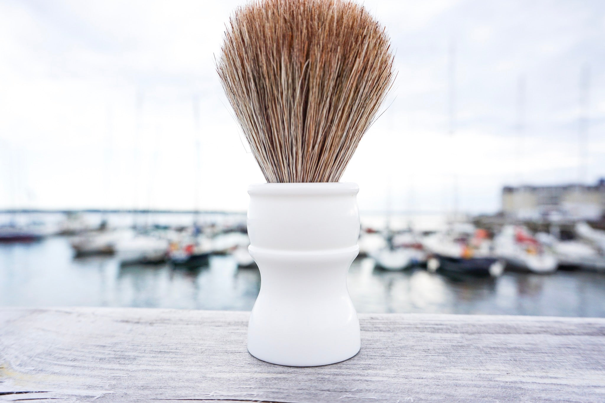 horse hair shaving brush by Luther Lather Shaving Creamery
