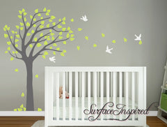 Nursery Wall Decals Summer Tree Wall Decal