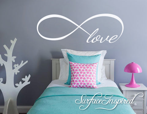 Love Infiniti Vinyl Wall Decal Art
