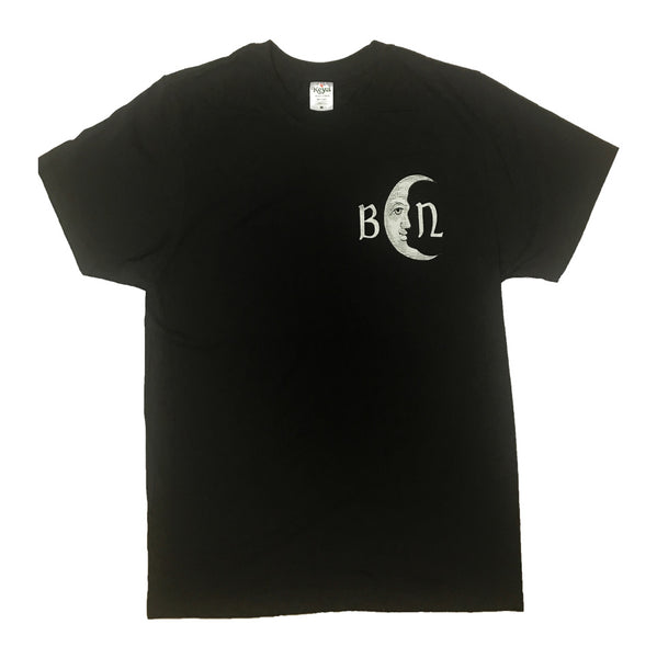 VINTAGE LINE UP BLACK T-SHIRT