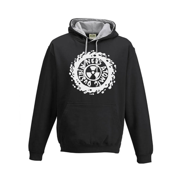 Black/Heather Logo Hoody