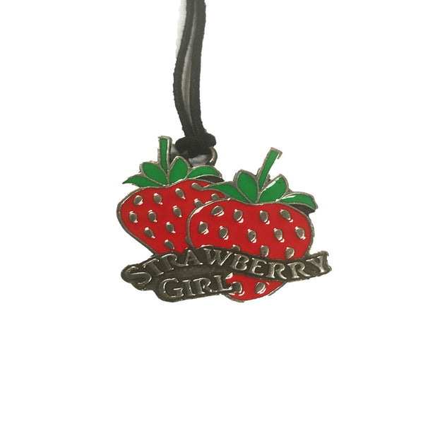 ROMANTIC COLLECTION - STRAWBERRY GIRL NECKLACE