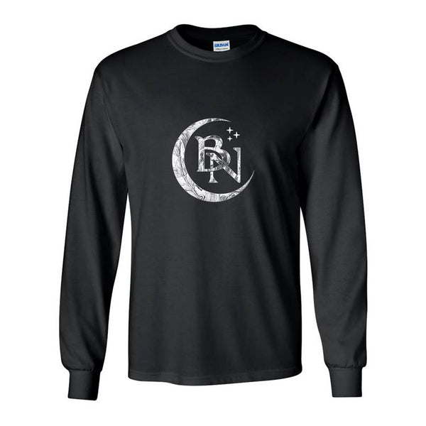 BLACKMORE'S NIGHT MOON LONG SLEEVE BLACK T-SHIRT