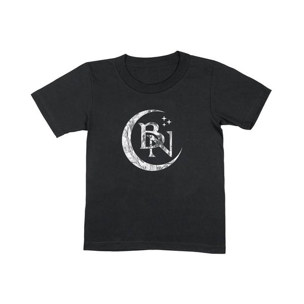 BLACKMORE'S NIGHT MOON BLACK KIDS T-SHIRT