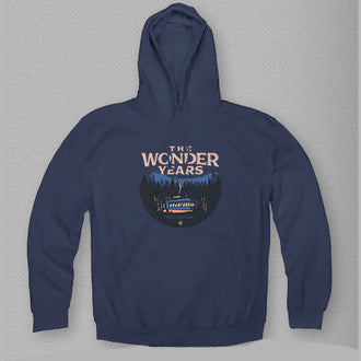 ALWAYS A TABLE NAVY HOODY
