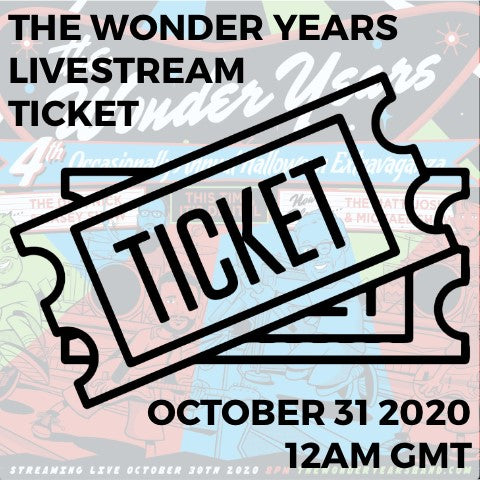 LIVESTREAM TICKET - 31ST OCT 2020