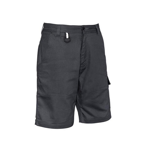 Syzmik Mens Rugged Cooling Vented Short Charcoal