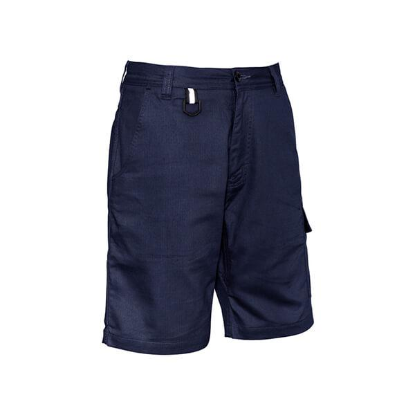 Syzmik Mens Rugged Cooling Vented Short Navy