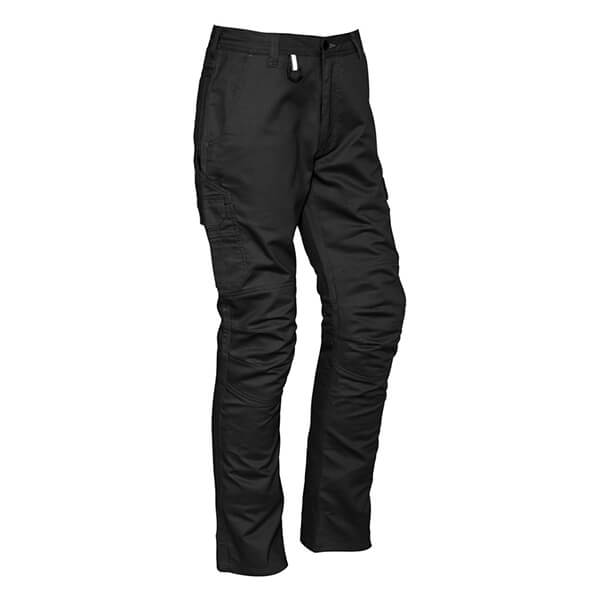 Syzmik Mens Rugged Cooling Cargo Pant (Regular) Black