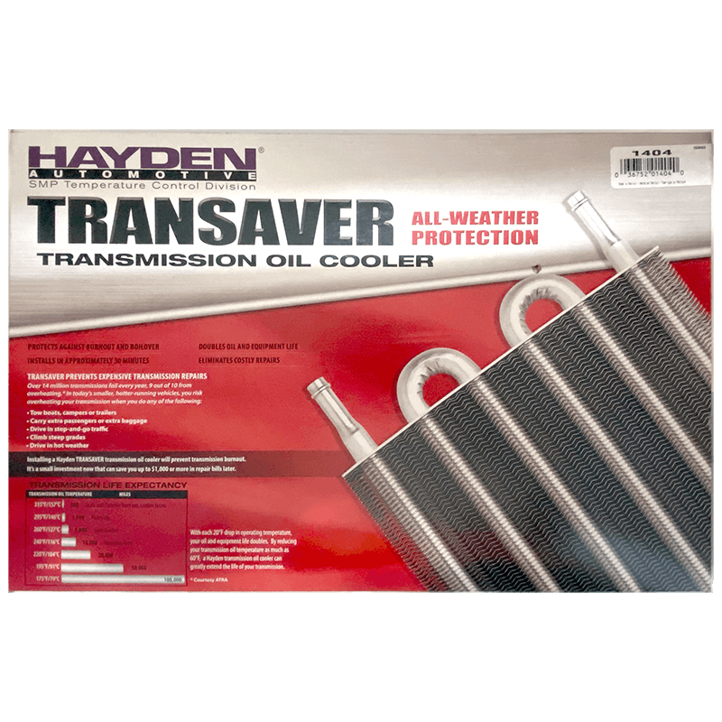 Transmission Cooler Large 191mm x 394mm x 19mm