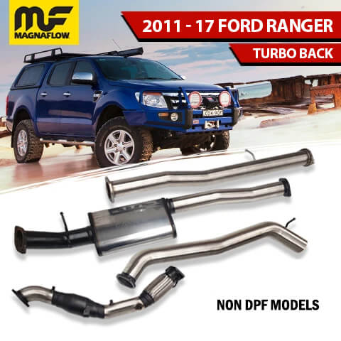 Ford Ranger 2011-2017 3.2L TD Magnaflow Exhaust System No DPF