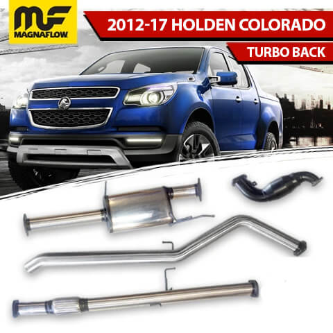 Holden Colorado 2012-2017 2.8L TD Magnaflow Turbo Back Exhaust System With DPF