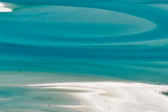 Blue Swirls of Hill Inlet