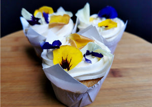 Floral Cupcakes (x6)