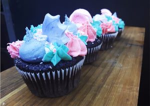 Mermaid Cupcakes (x6)