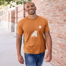Load image into Gallery viewer, Wolf And Stars Short-Sleeve Unisex T-Shirt - Noeboutiques