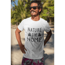 Load image into Gallery viewer, Nature Is My Home Short-Sleeve Unisex T-Shirt - Noeboutiques