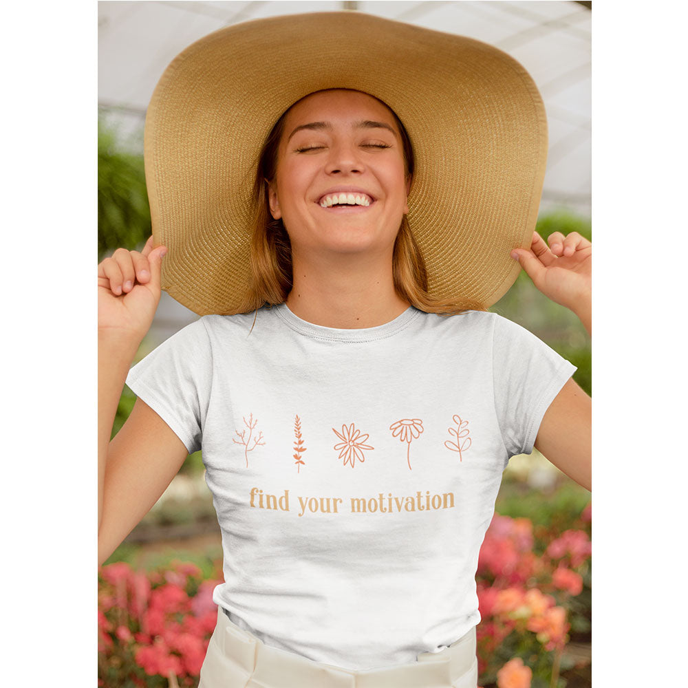 Find Your Motivation Short-Sleeve T-Shirt - Noeboutiques