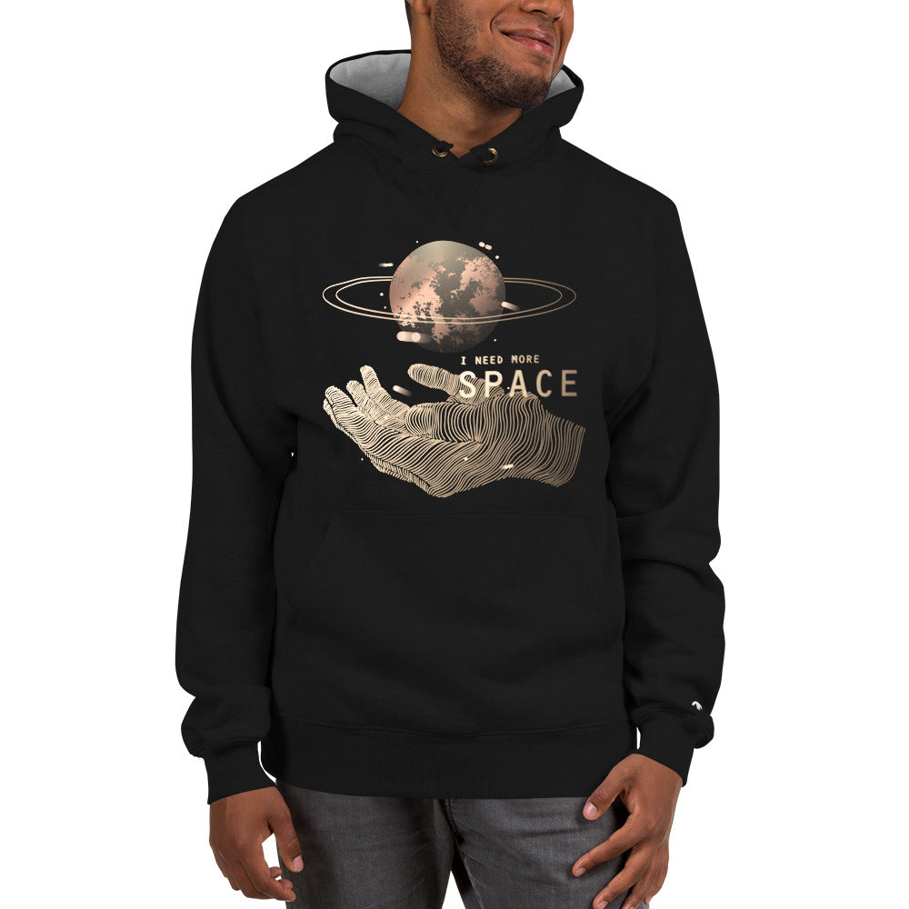 I Need More Space Champion Hoodie - Noeboutiques