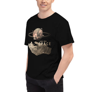 I Need More Space Hand Men's Champion T-Shirt - Noeboutiques