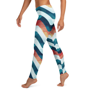 Wave Color Leggings - Noeboutiques