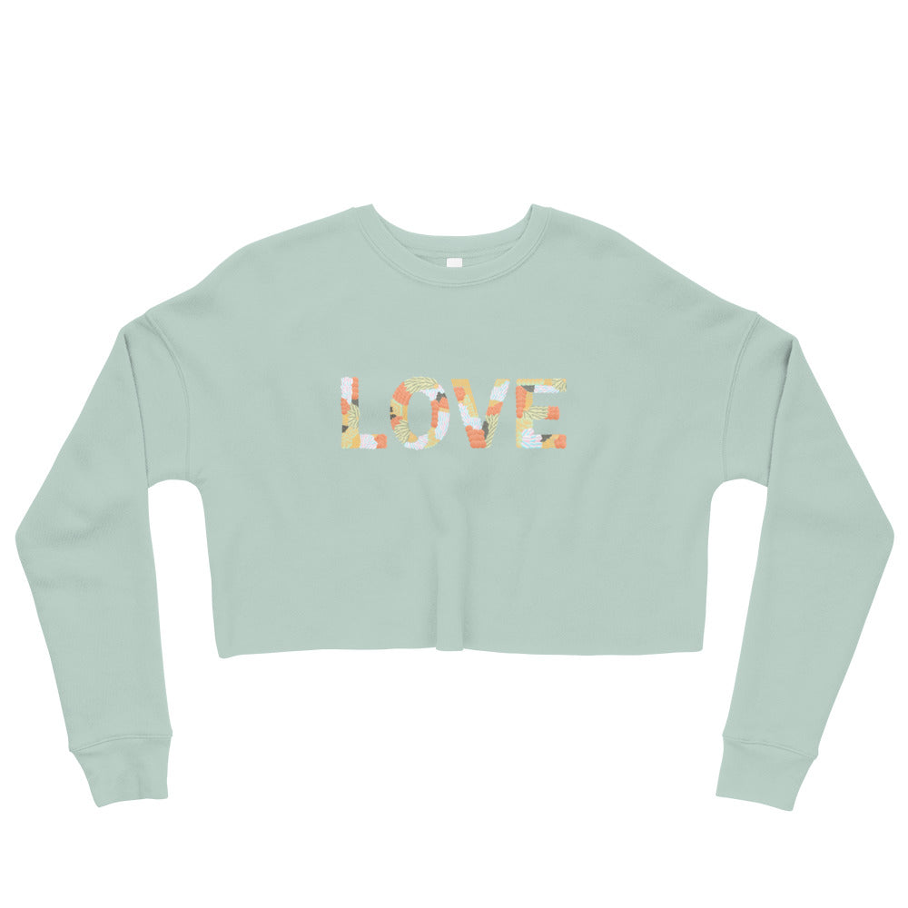 Love Crop Sweatshirt - Noeboutiques