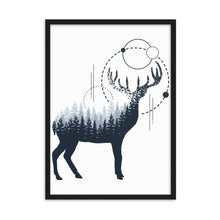 Load image into Gallery viewer, Wild Deer Framed Poster - Noeboutiques