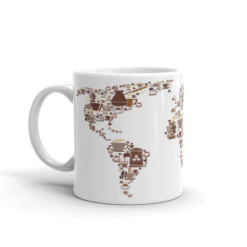 World Map Coffee Mug - Noeboutiques
